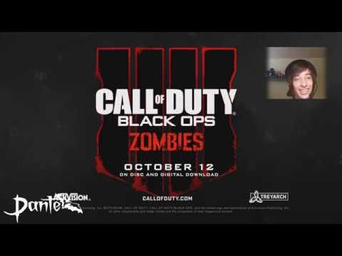 Vídeo Reacción Trailers Zombies Call Of Duty BLACK OPS 4 ESPAÑOL!!!