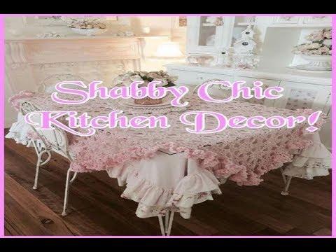 Shabby Chic Kitchen Decor Cottage Kitchen Ideas
