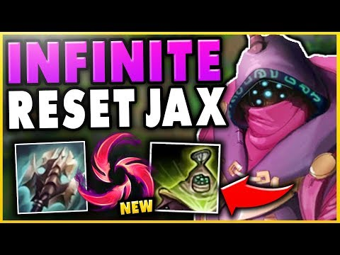 NEW HAIL OF BLADES GIVES JAX INSANE BURST! SEASON 9 JAX GAMEPLAY! - League of Legends