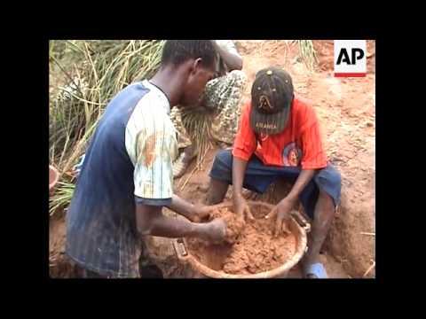 Children Mine Gold Destined For The International Market Place