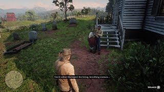 Red Dead Redemption 2 Girl Wants To Bang Over Dead Aunties Grave