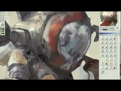 Visual Storytelling Painter & Photoshop Workshop By Tae Young Choi