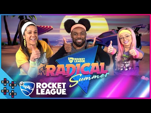 ROCKET LEAGUE RADICAL SUMMER: Bayley And Liv Morgan Party Like It's The '80s!