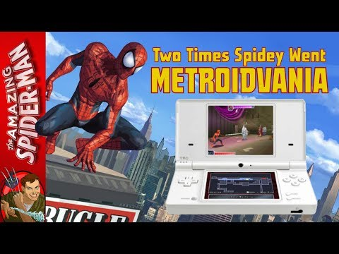 Spider-Man Metroidvania Games on NDS | Shattered Dimensions & Web of Shadows