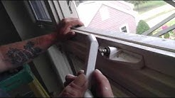 How to repair a window crank