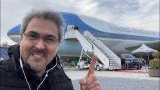 Como es el avión presidencial Air Force One por dentro? Un tour