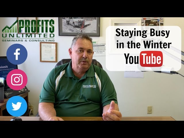 Staying Busy in the Winter