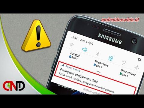 Cara Mudah Menghapus Peringatan Penggunaan Data Di Android