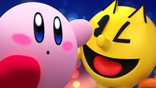 Kirby Vs Pac-Man REMASTERED- Gaming All Star Rap Battles