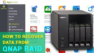 ☁️ How to Rec๐ver Data from a RAID 5 Storage System Based on QNAP TS-412 ☁️