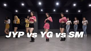 (SM/JYP/YG) 3 Major Agency girl group dance cover PRACTICE