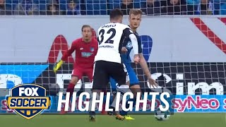 Video Gol Pertandingan Hoffenheim vs Borussia Monchengladbach