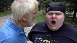 ANGRY GRANDPA DESTROYED MY IPHONE!!