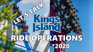 Let's Talk Kings Island Ride Operations - 2020 (Mason, Ohio)