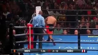 #TankDavis 2nd round knockout