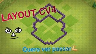 Clash Of Clans - Layout CV4 Push/War