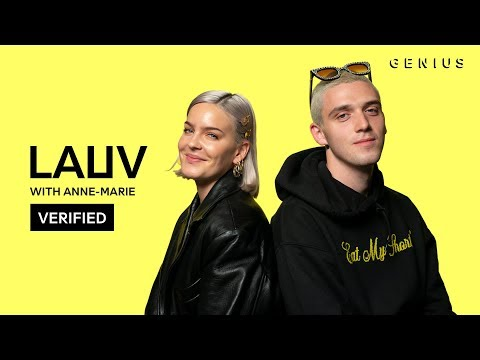 """Lauv & Anne-Marie """"f*ck, i'm lonely"""" Official Lyrics & Meaning 