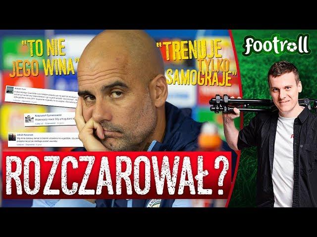 """Guardiola się nie nadaje? City odpada, a """"awans ajaxował""""! xD"""