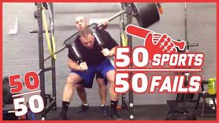 50 Sports, 50 Fails!