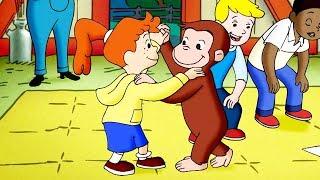 Curious George 🐵School of Dance 🐵Kids Cartoon 🐵Kids Movies 🐵Videos for Kids