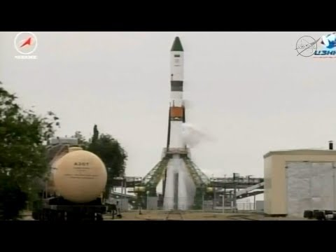 Full Soyuz 2.1a Progress 67P Launch To International Space Station Coverage