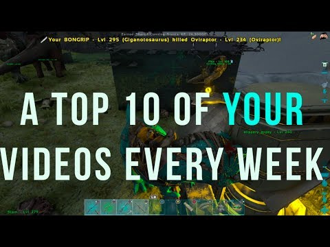 SEND YOUR VIDEOS IN!! TOP 10 PLAYS OF THE WEEK - ARK OFFICIAL PVP XBOX ONLY!