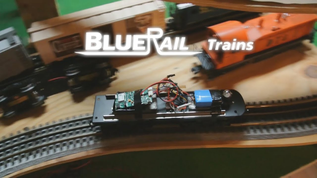 Running O Gauge Train On Battery Power Via Bluetooth Smart Youtube Model Railroad Dcc Wiring How To Build A Layouts G Z S