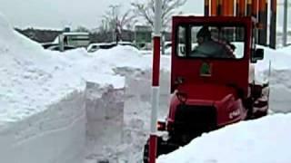 小型乗用除雪機とらん丸NR30P①