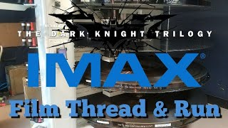 Threading Up The Dark Knight On Imax 70mm Film As Part Of The Dark Knight Trilog