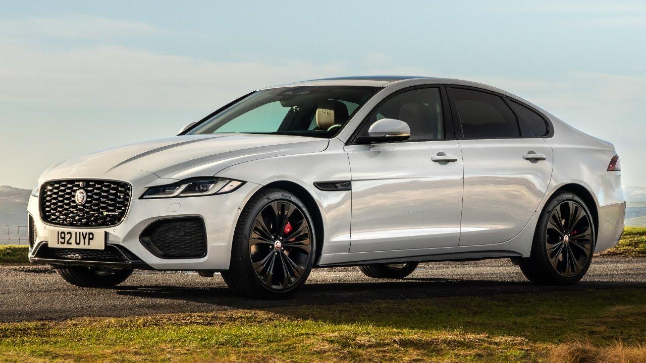2022 Jaguar XF P300 R Dynamic SE - Luxury Sporty Sedan - YouTube