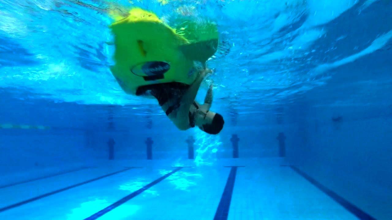 Kayak In The Swimming Pool