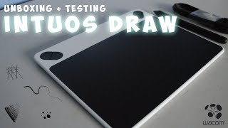MY FIRST DRAWING TABLET - Wacom Intuos Draw Small