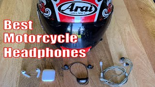 The Best Motorcycle Headphones: AirPods, SlimBuds, Sena, Shure, and more