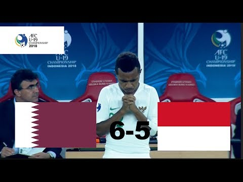 INDONESIA U-19 VS QATAR U-19 AFC U-19 5-6