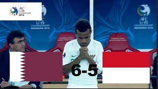 Download Video INDONESIA U-19 VS QATAR U-19 (AFC U-19) 5-6 MP3 3GP MP4