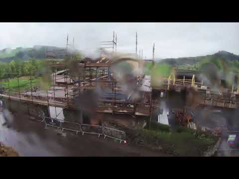 Time Lapse of the building of Lindores Abbey Distillery