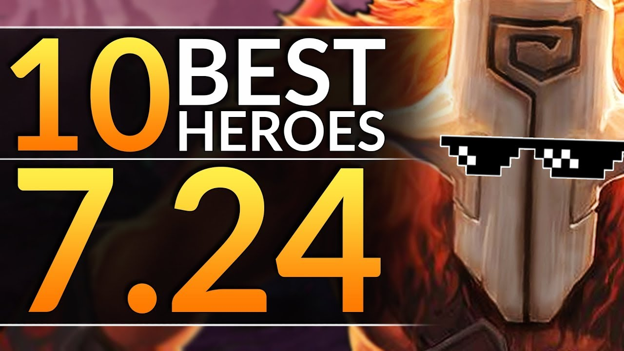 Top 10 New Meta Heroes You Must Play In 7 24 Tips To Main The Best Picks Dota 2 Pro Guide Youtube