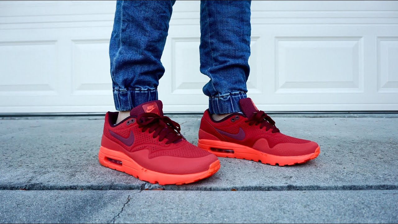 nike air max 1 ultra moire gym red 12