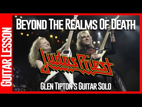Beyond The Realms Of Death - Guitar Lesson - All Solo's