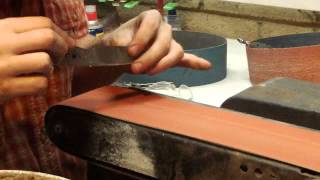 How To Make A Knife - 9 Final Grinding