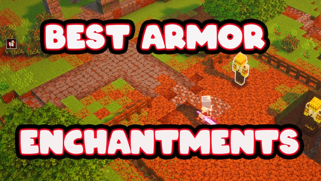 minecraft dungeons best armor enchantments - YouTube