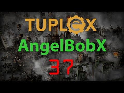 Factorio AngelBobX Let's Play #37 - Carbon processing, iron ingots