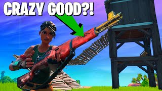 The *NEW* Best Weapon In Fortnite (20 Kill Arena Gameplay) **Top Controller Player**