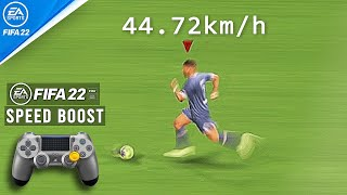 FIFA 22 : SPEED BOOST / EXPLOSIVE SPRINT TUTORIAL