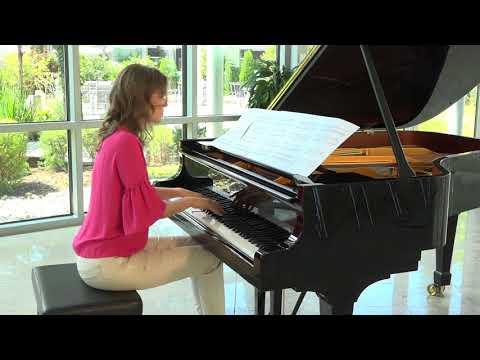 Anna Sutyagina plays Naji Hakim : NOCTURNO pour piano from Sonate Basque