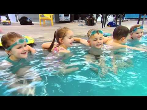 Physical activity - learn to swim (video)