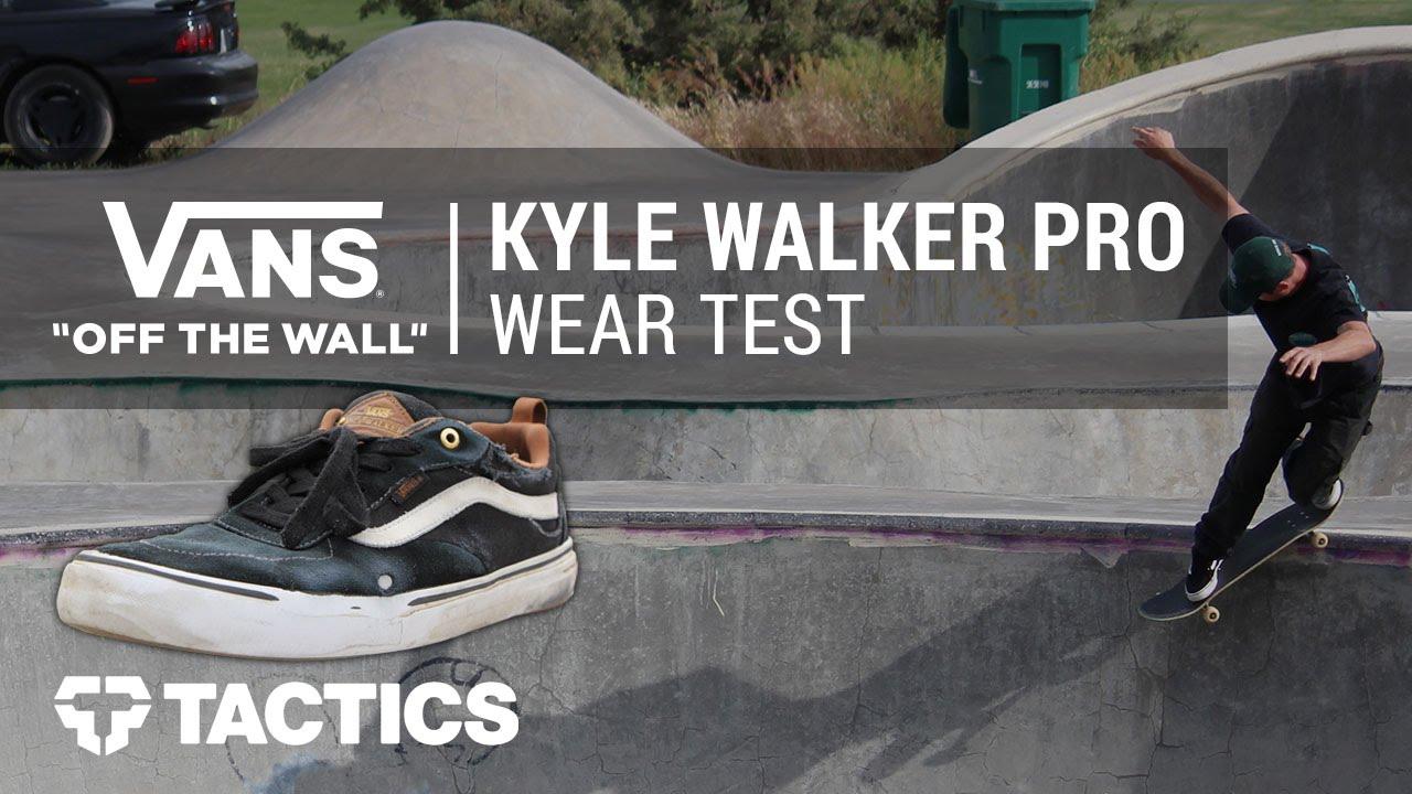 Vans Kyle Walker Pro Skate Shoes Wear Test Review - Tactics.com - YouTube a1c3bb761