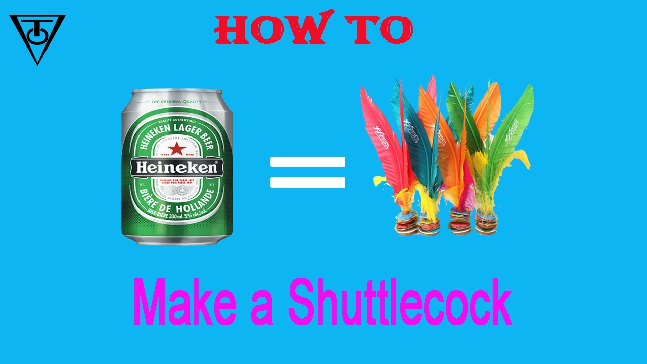 How to sew a shuttlecock