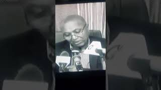 TPLF Donkey Bereket Simon  points feigning for his Resignation