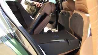 Citroën DS5. Posibilidades de configuración del maletero y de las plazas posteriores